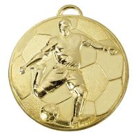 Helix60 Footballer Medal</br>AM931G